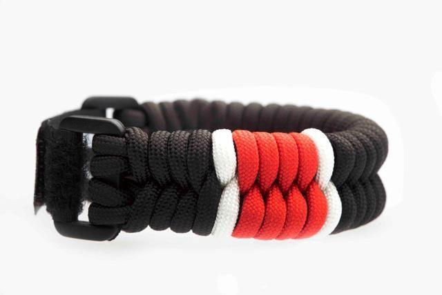 BJJ Black Belt Paracord Bracelet