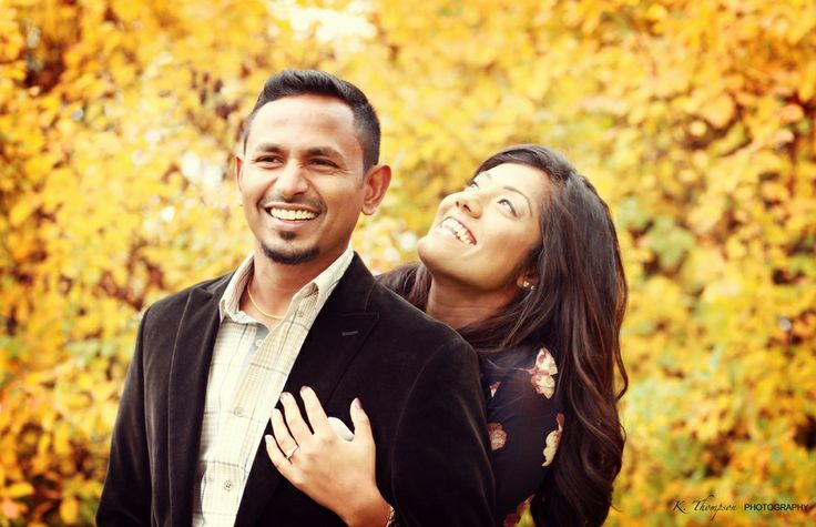 Tharankini & Gowribalan | Fall Engagement Session | K. Thompson Photography