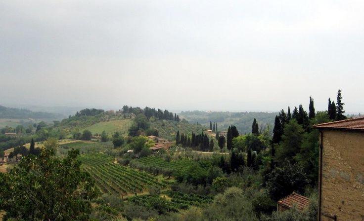 Panorama from San Gimignano - Photo: Beata B.
