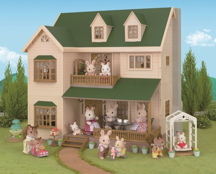 352 best sylvanian families calic critters images on. Black Bedroom Furniture Sets. Home Design Ideas