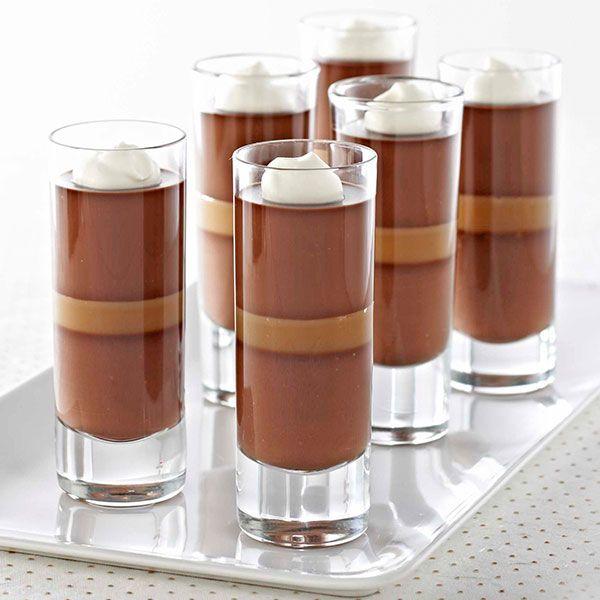 Ghirardelli Baking: Dark Chocolate Caramel Panna Cotta Recipe Impressive Results Worth Sharing. Bake with Ghirardelli.