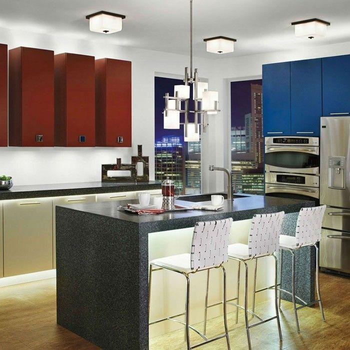 küchenideen kleine küche einrichten küchenbeleuchtung Küche - küchenideen kleine küchen