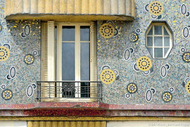 Façade de l'immeuble Poirier à Rennes