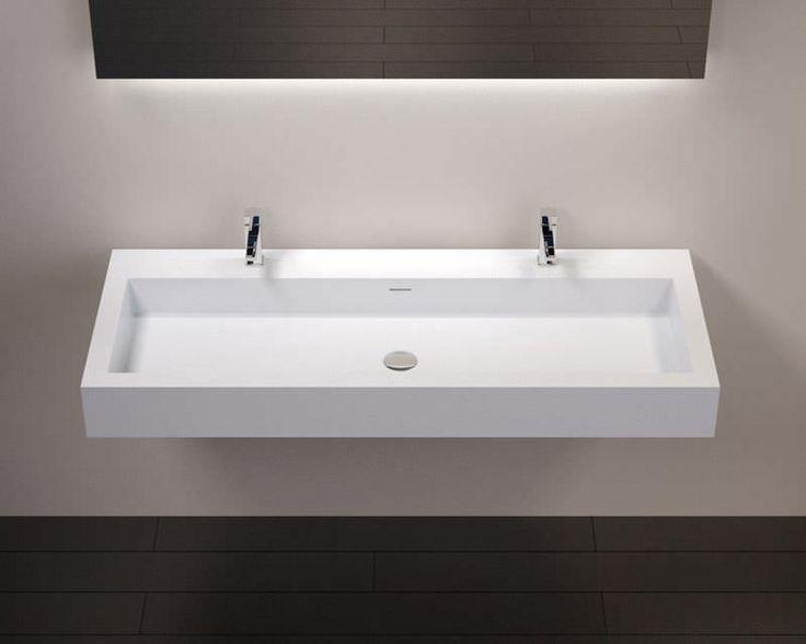 Die besten 25+ Doppel waschbecken Ideen auf Pinterest Doppel - badezimmerschrank mit waschbecken