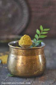 Karuveppilai Paruppu Podi (Curry Leaves & Dal Powder)