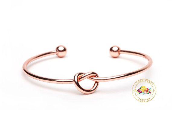 Rose Gold Will You Be My Bridesmaid Gift by LemonHoneyJewelry