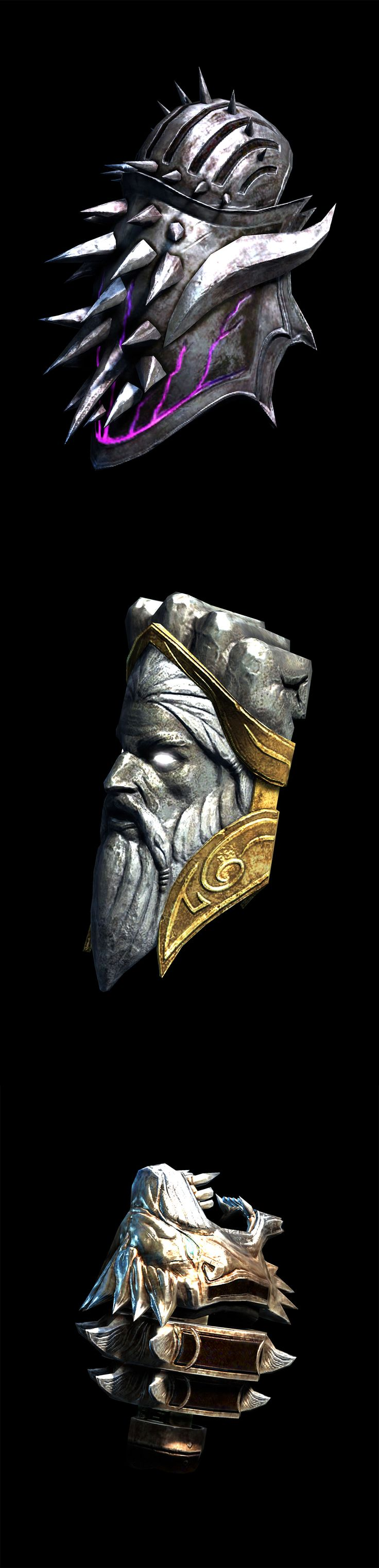 God of War - Weapon - Gauntlet of Hades, Gauntlets of Zeus, Nemean Cestus_by God of War_from PlayStation Forums_點開有該裝備實際使用於遊戲中之截圖