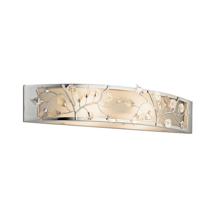 Kichler Lighting 45291CH 2-Light Jardine™ Small ADA Bathroom Light   ATG Stores