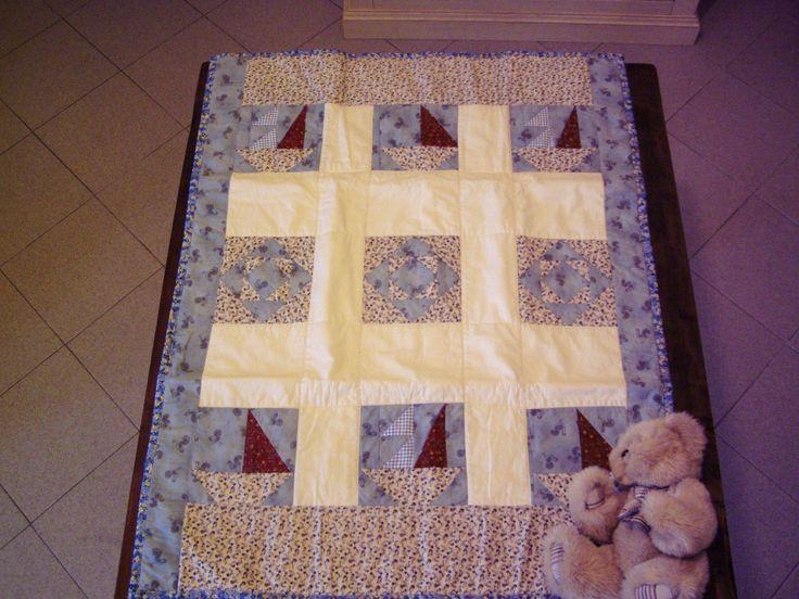 A little quilt for a little boy