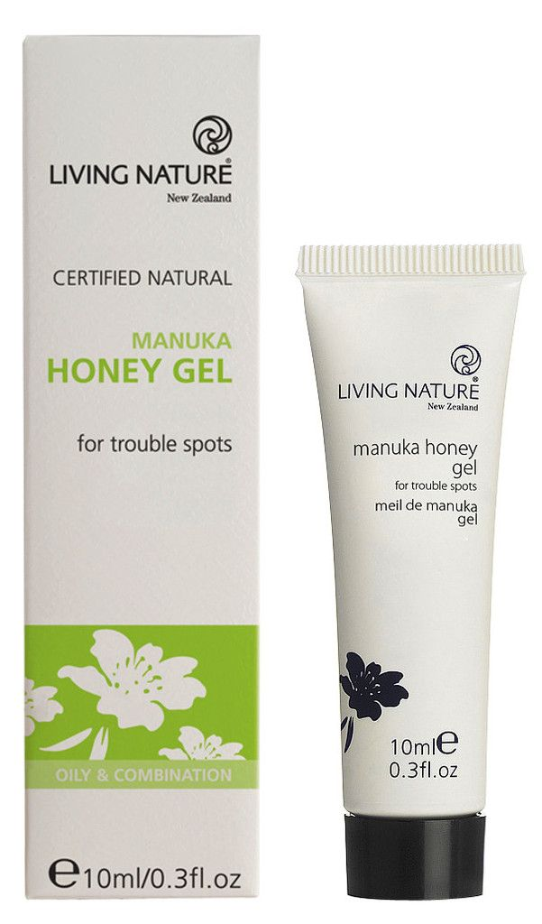 Manuka Honey Gel from Living Nature. With manuka honey, manuka oil & flax gel.