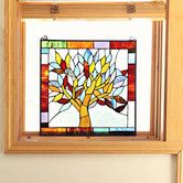 Found it at Wayfair - Mystical World Tree Tiffany Style Stained Glass Window…