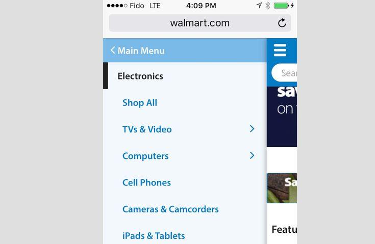 Walmart-Mobile-Navigation-Screenshot