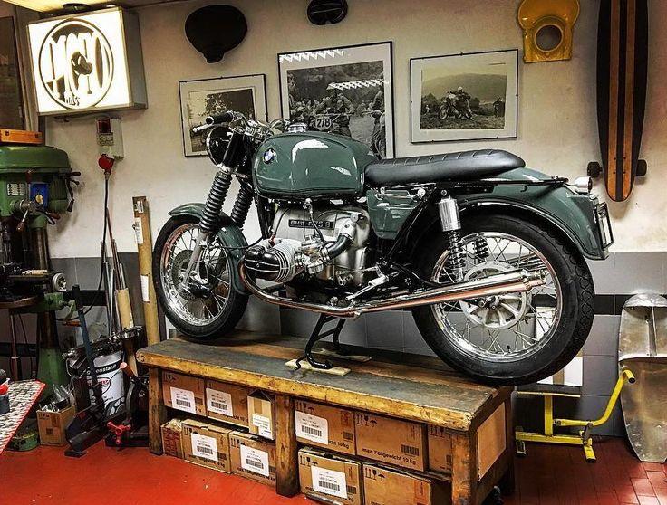 Une nouvelle vie pour les classiques bavarois BMW, sans pour autant perdre leur esthétique originelle. Bienvenu à l'atelier Moto Maggioni