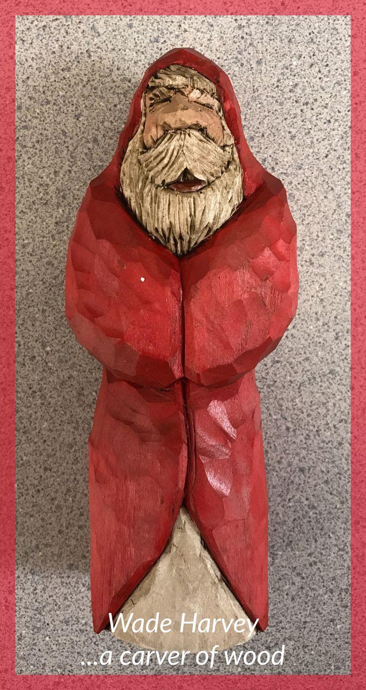 Santa with closed eyes
