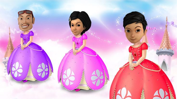 Adit Sopo Jarwo Transforms Into SOFIA THE FIRST Finger Family, Learn Col...