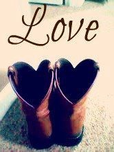 """Izzy sure does love them """"Cowgirl boots"""""""