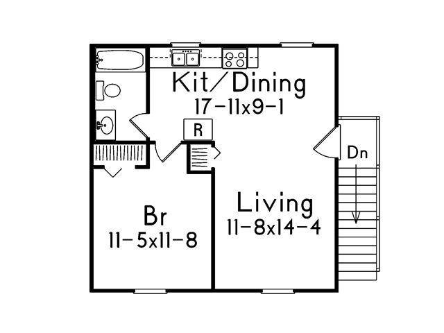 287 Best Images About Small Space Floor Plans On Pinterest One Bedroom Guest Houses And