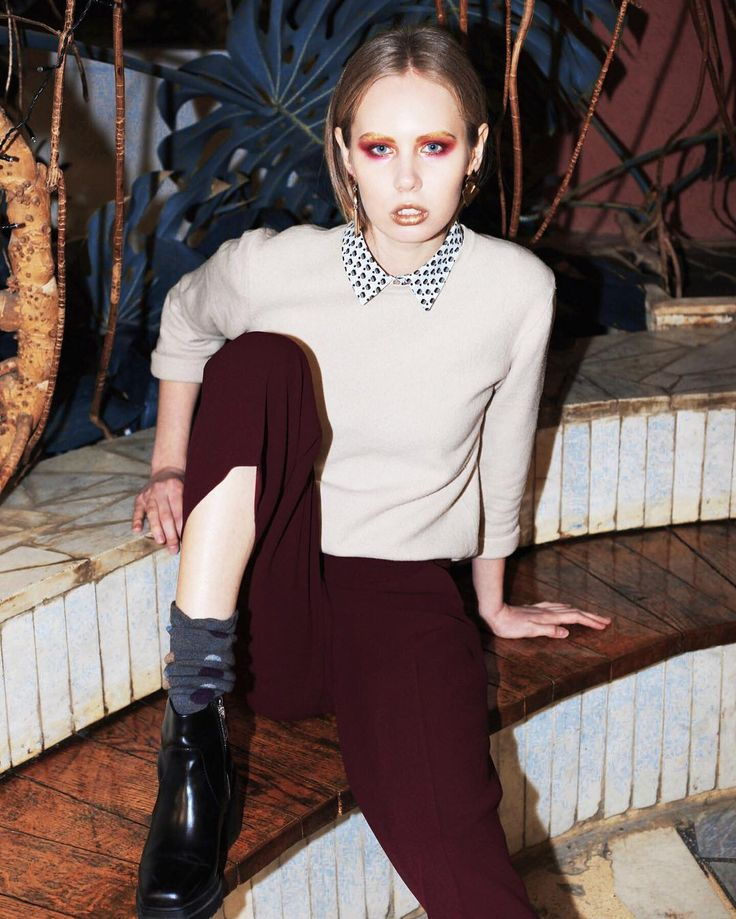 Фото: Даша Ядрова модель Марина Мосина м\a Models  стиль Аня Быченкова  бархатный костюм #feel_good_brand предоставлен LOFT28 #визажист #макияж #визажистчелябинск #obukhovamakeup #makeupartist