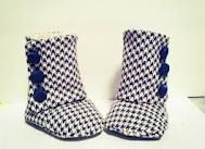 BOOT-ies :)Houndstooth Booty, Fashion, Baby Booty, Boots I, Design Bags, Baby Booties, Gucci Handbags, Rice Noodles, Baby Boots