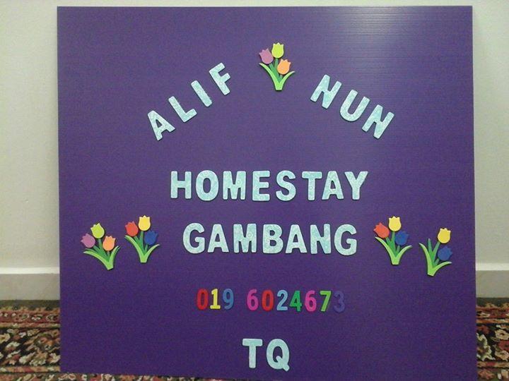 Jom Bermalam Di Alif Nun Homestay Gambang Kuantan.