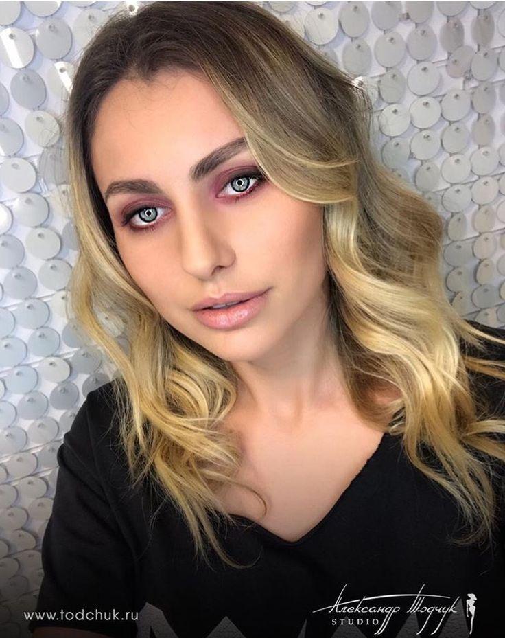 #makeup #укладка #весенниеукладки #локоны #кудри #todchukstudio