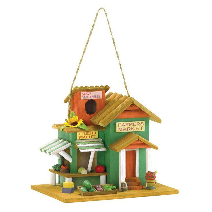 Farmer's Market Birdhouse. ECA LISTING BY Global-Living Online Retail, Lower Sackville, Nova Scotia, Canada