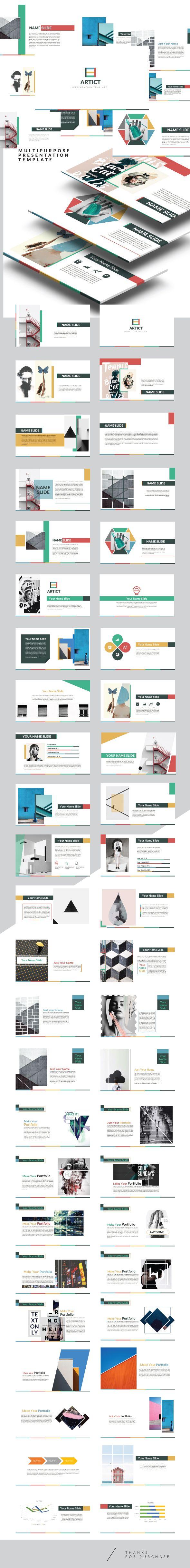 Artic - Multipurpose Keynote Creative Template
