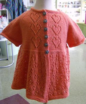 Craft Passions: Hugs and Kisses Cardigan..# free #knitting pattern link here