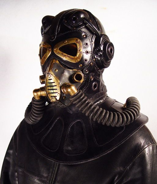 Steampunk Gas Mask by Bob Basset