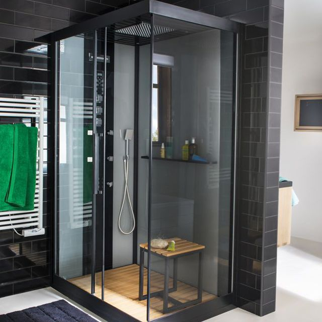 les 25 meilleures id es de la cat gorie cabines de douche. Black Bedroom Furniture Sets. Home Design Ideas
