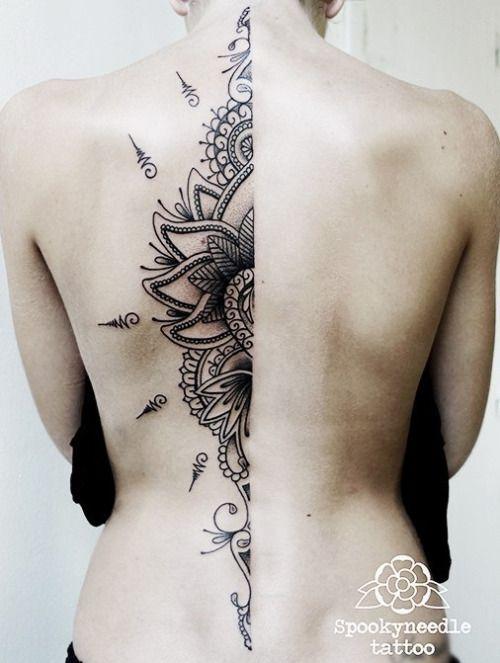 Spooky Needle Tattoo #tattoo #ink