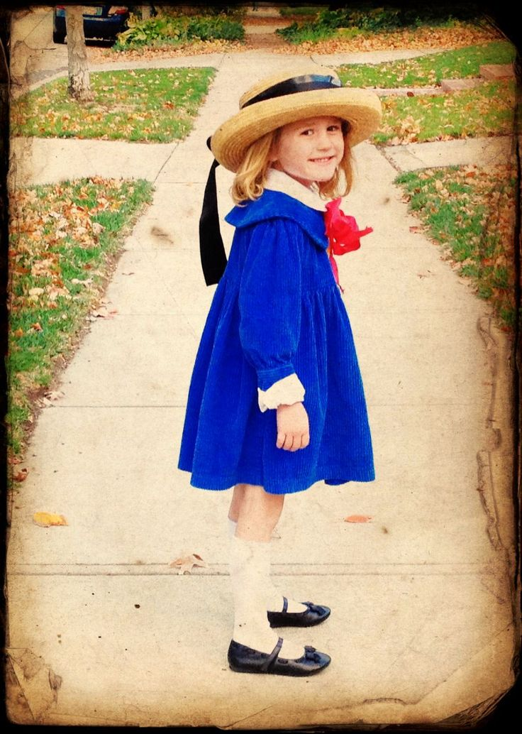 Madeline, the best little girl Halloween costume i've seen, so adorable!!!!
