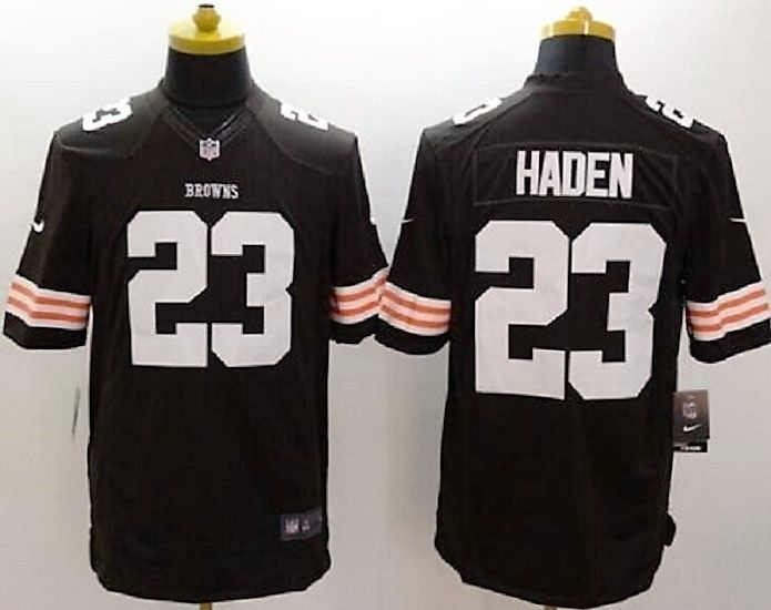 FREE U.S. Shipping! NWT! MSRP $100.00 NFL Browns #23 Haden Replica Jersey! XXL. #Nike #ClevelandBrowns