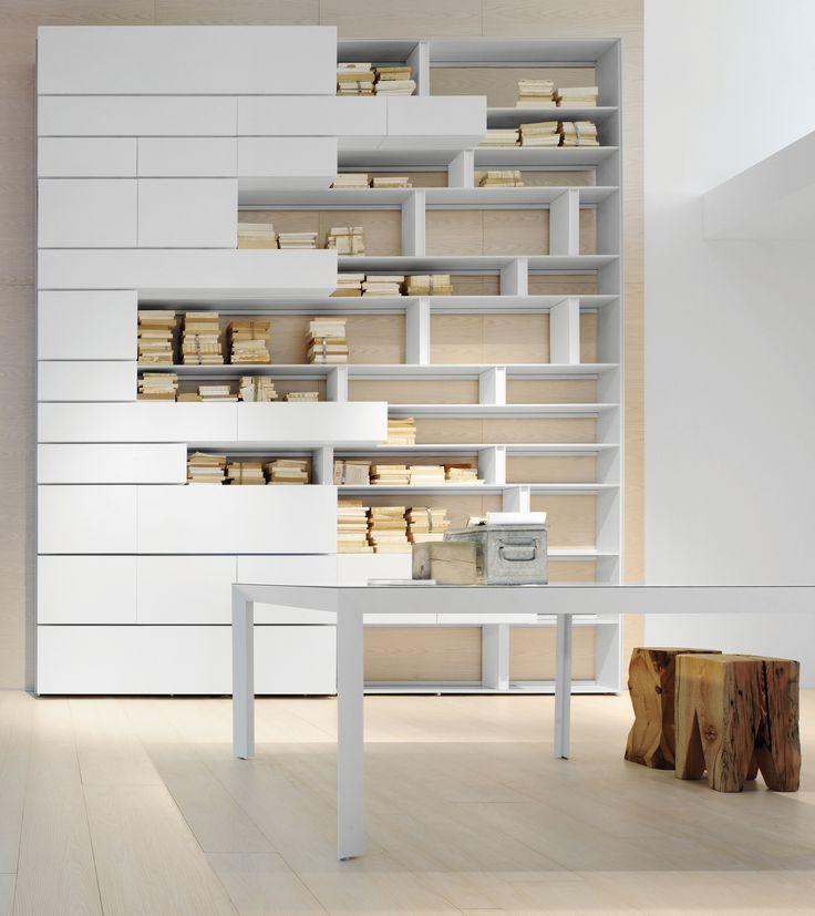 17 migliori idee su design libreria di casa su pinterest for Divisori casa