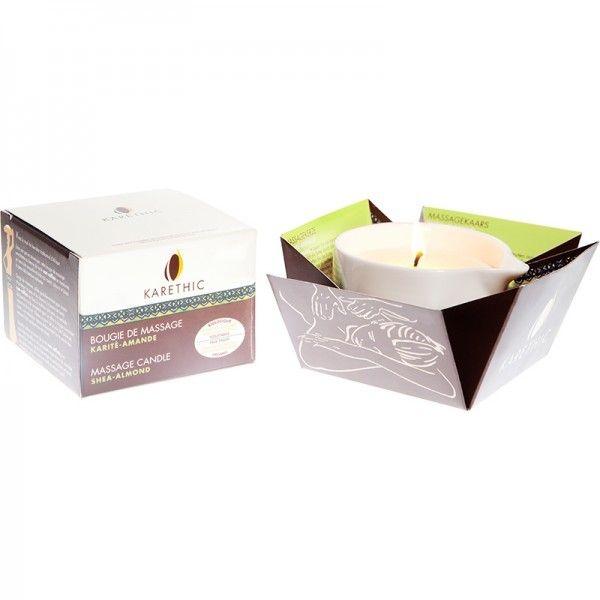 Bougies corporelles au beurre de karité bio et vegan Karethic - les-huiles-essentielles-bio