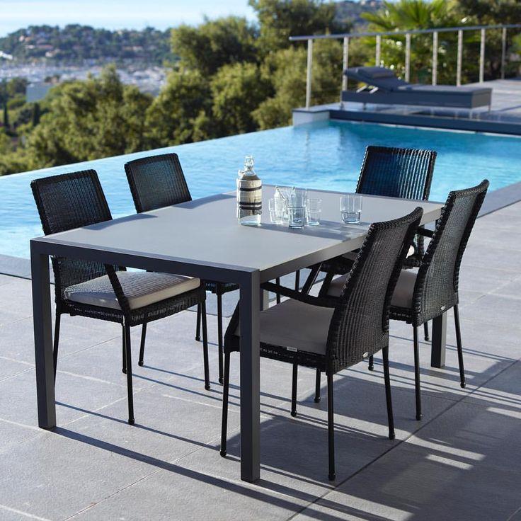 """KiiL Oslo på Instagram: """"Share utebord med keramisk topp og Newport spisestoler fra Cane-Line. Perfekt for utesesongen #kiiloslo #caneline #utebord #stol #utestol #utemøbler #sommer #spisebord #oslo #danishdesign #veranda #tipstilhjemmet #inspirasjon"""""""