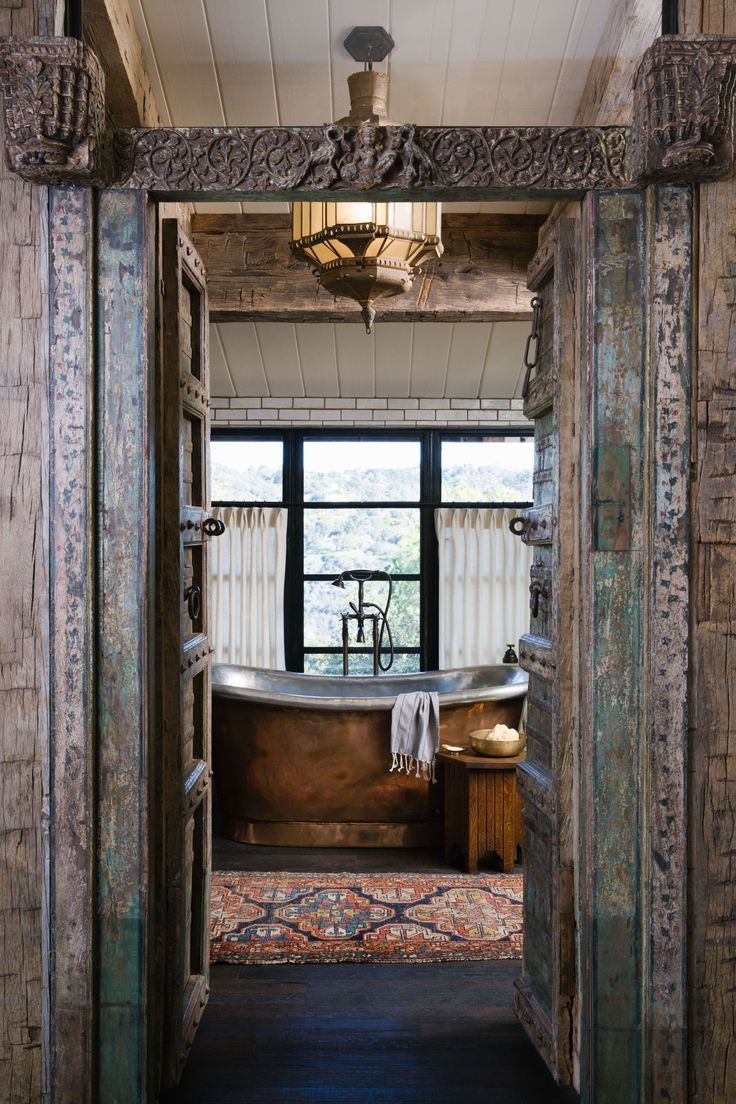 Rustic bathroom designs the key is to be bold original and - 20 Rustic Bathrooms To Give Your Home An Old World Feel