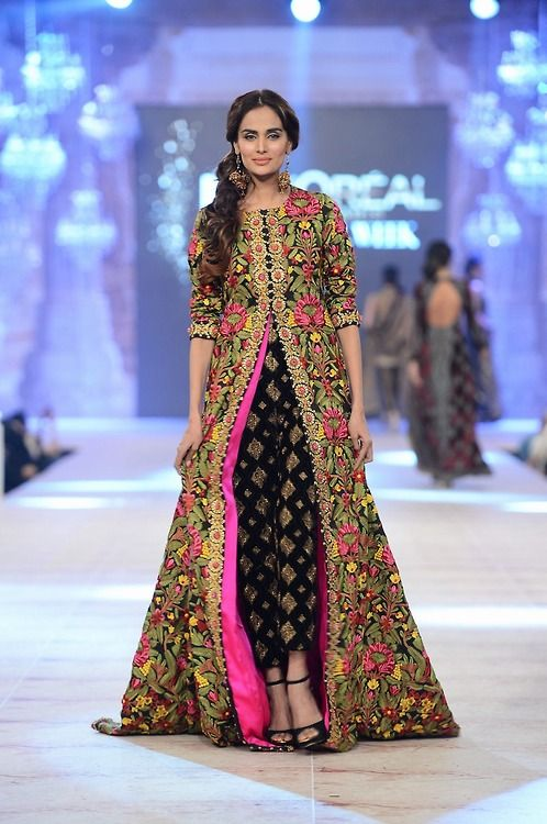 Pakistani high fashion.