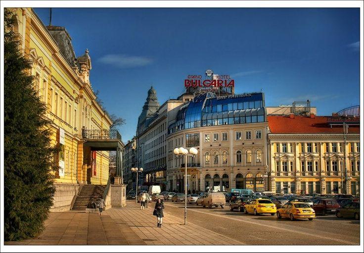 Royal Palace and Grand Hotel Bulgaria, Sofia, Bulgaria