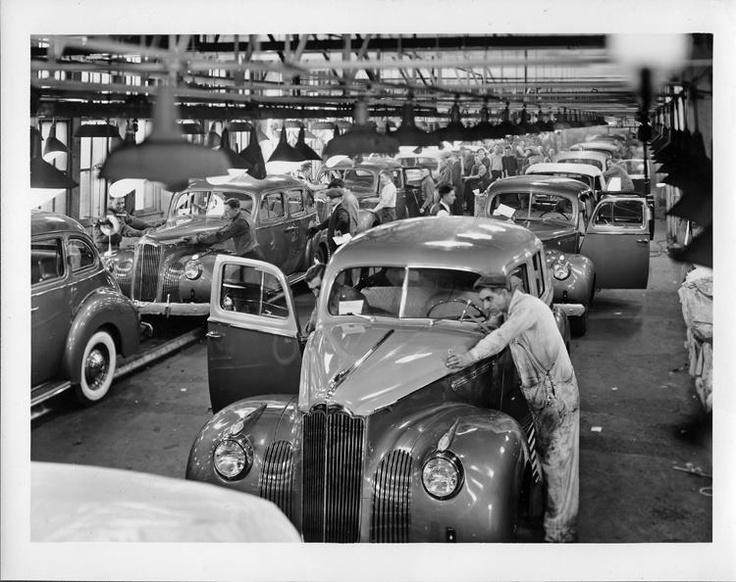17 Best Images About Old American Car Factory Photos On