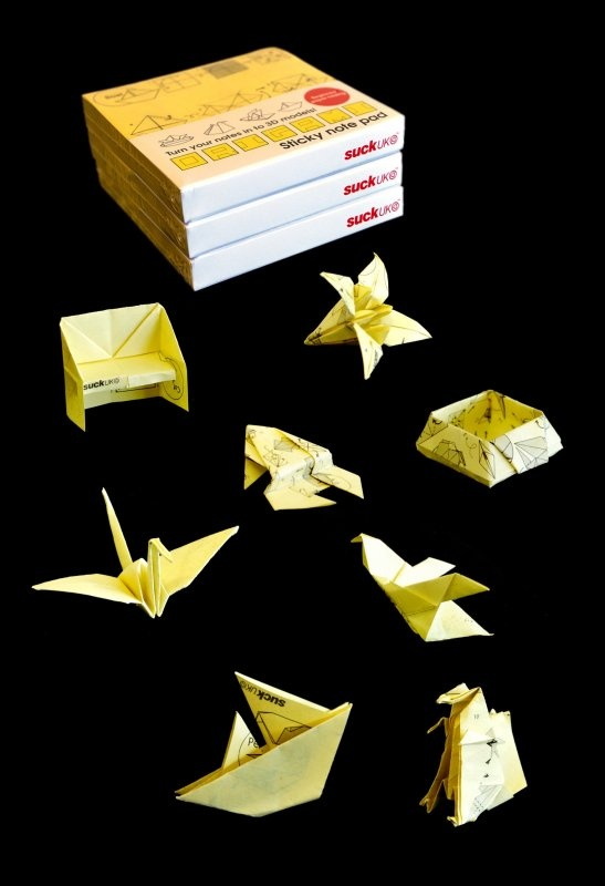 the 25 best sticky note origami ideas on pinterest
