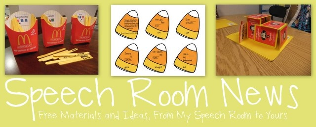 great speech therapy ideas