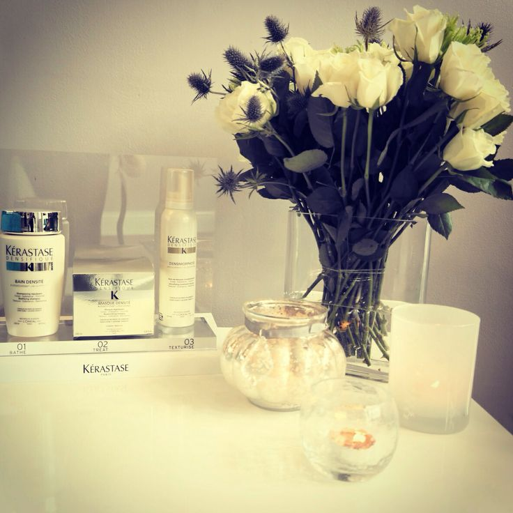 Gorgeous new product range in- Densifique by Kèrastase. It works by improving hair density in thinning hair. Unveil the beauty of fuller looking hair!!