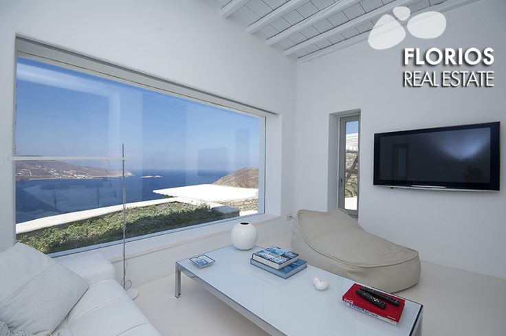 Amenities: There is wi-fi covering the hall area In floor heating (warm and cold) Air condition in 3 bedrooms Satellite TV Stereo in all seating areas (indoor/outdoor) Doors and windows from Italy Floor from Belgium (like tsimedokonia) http://www.florios.gr/en/mykonos-property/24.html