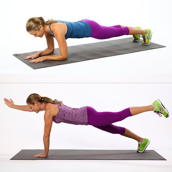 Planks: The Only Move You Need to Tone Your Entire Body. This article is perfect for my 30 Day Plank Challenge that I'm doing for September. #plankaday