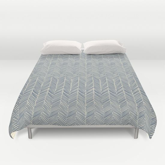 Freeform+Arrows+in+navy+Duvet+Cover+by+Domesticate+-+$99.00