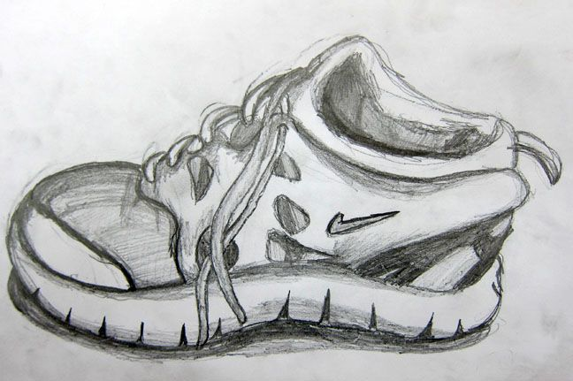 Stinky feet day is what I like to call the shoe drawing project. Hadn't had students draw their shoes in a couple of years. It is a great e...