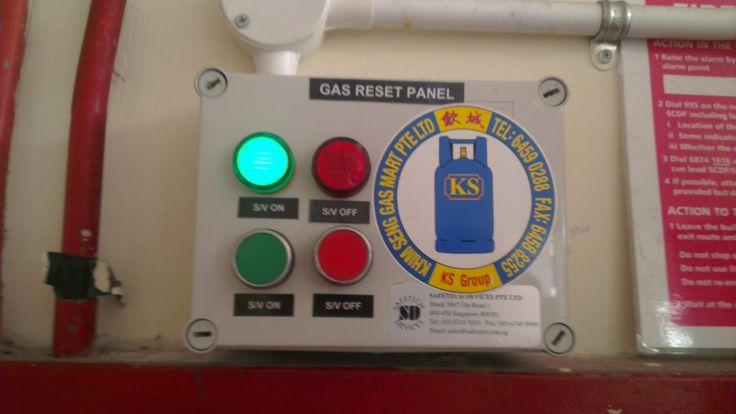 TE control panel