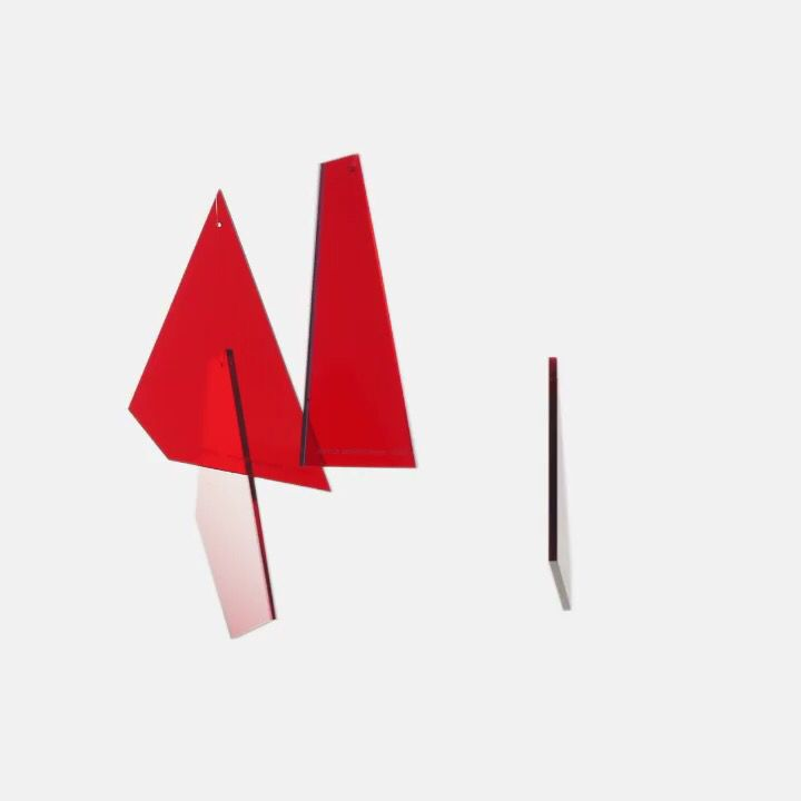 A set of Shard decorations broken into fragments. Christmas edition for 2017. . Available online. #postcard #xmasdecor #decorations #sebastianbergne #xmas #christmasdecorations #sharddecorations