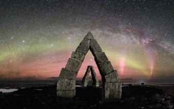 The Arctic Henge – Magnificent Circle And Its Giant Dwarf Path In Iceland